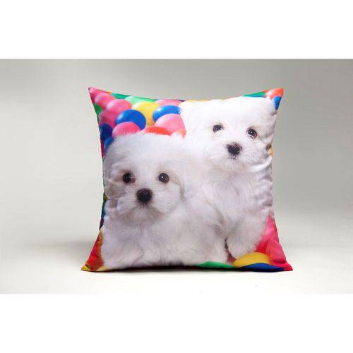Capa de Almofada Decorativa Cachorros