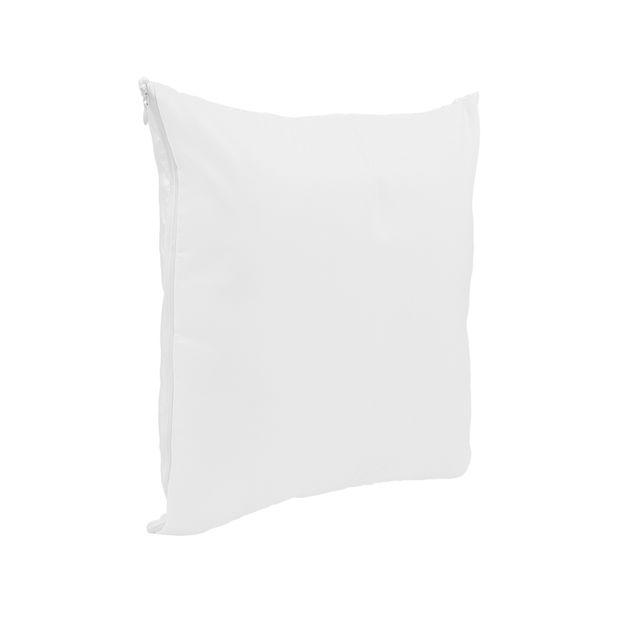 Capa de Almofada para Sublimação 30x30cm 30x30 Branco