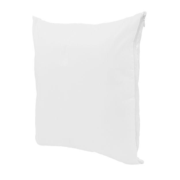Capa de Almofada para Sublimação 40x40cm 40x40 Branca