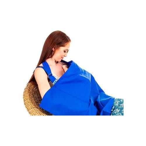 Capa de Amamentação Azul KaBaby