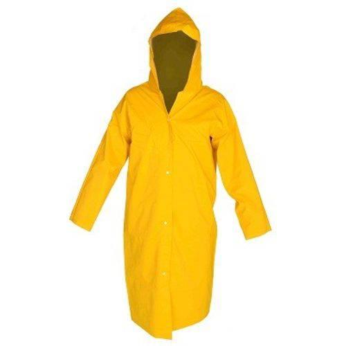 Capa de Chuva Forrada Amarela Ca 36254 - Plastcor
