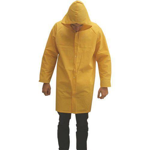 Capa de Chuva Forrada Tamanho G Amarela Soldacapa