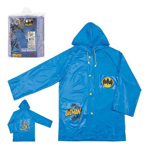 Capa de Chuva Infantil Batman GG Azul