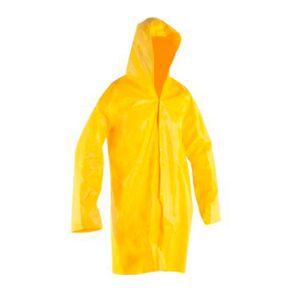 Capa de Chuva PVC G com Forro Amarela Vonder
