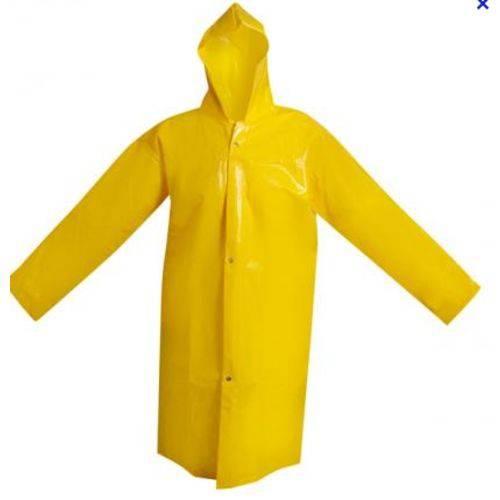Capa de Chuva Trevira Forrado Amarela Tam M