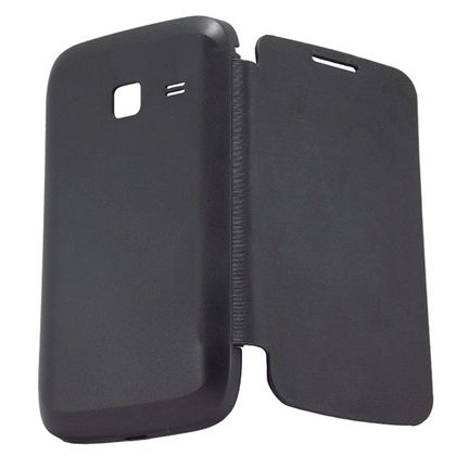 Capa Flip Cover Samsung Galaxy Y Duos S6102 Preto - Idea