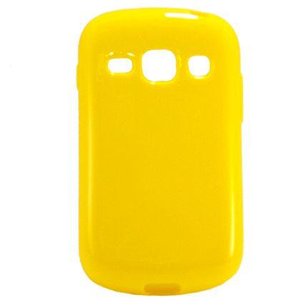 Capa Galaxy Fame/Fame Duos Tpu Gel Amarelo - Idea