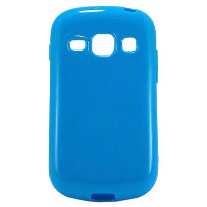 Capa Galaxy Fame/Fame Duos Tpu Gel Azul - Idea