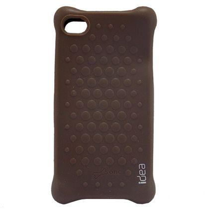 Capa Iphone 4/4S Bbuble Marrom - Idea