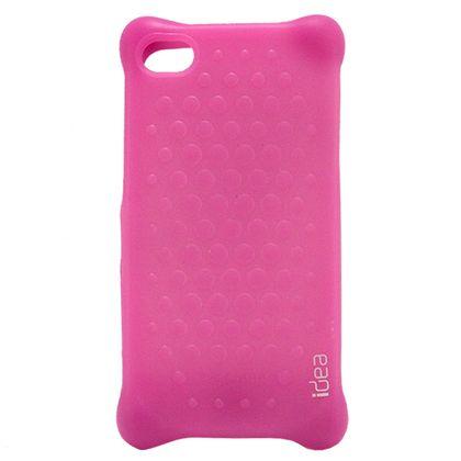 Capa Iphone 4/4S Bbuble Roxo - Idea