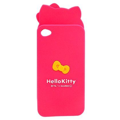 Capa Iphone 4/4S Hello Kitty Rosa - Idea