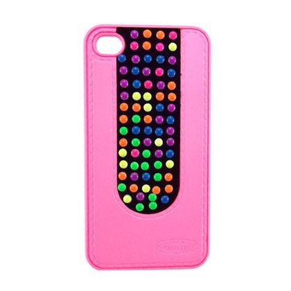 Capa Iphone 4/4S Pc Colorida - Idea