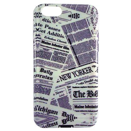 Capa Iphone 6 e 6S Tpu Jornal - Idea