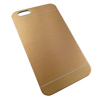 Capa Iphone 6 Plus e 6S Plus Pc Metal Dourado - Idea