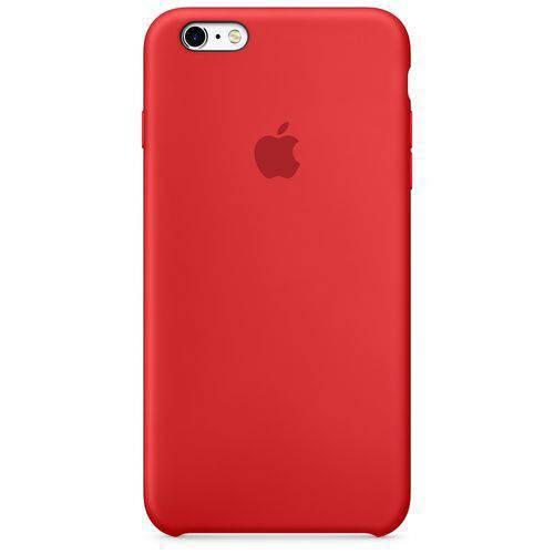 Capa Iphone 6s Silicone Case - Vermelho