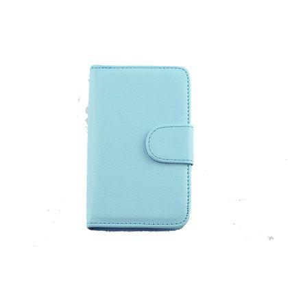 Capa Lg L3 Ii Couro Carteira Azul - Idea