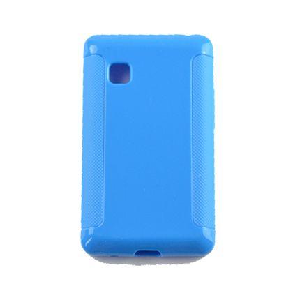 Capa Lg T375 Tpu Azul - Idea