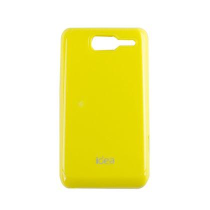 Capa Motorola D1 Tpu Amarelo - Idea