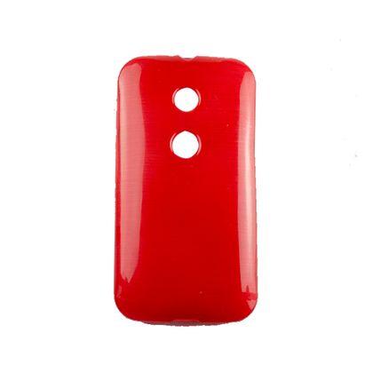 Capa Motorola Moto e Tpu Esmalte Vermelho - Idea