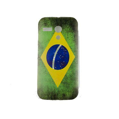 Capa Motorola Moto G Bandeira Brasil