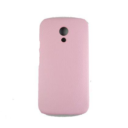 Capa Motorola Moto G2 Couro Rosa - IDEA