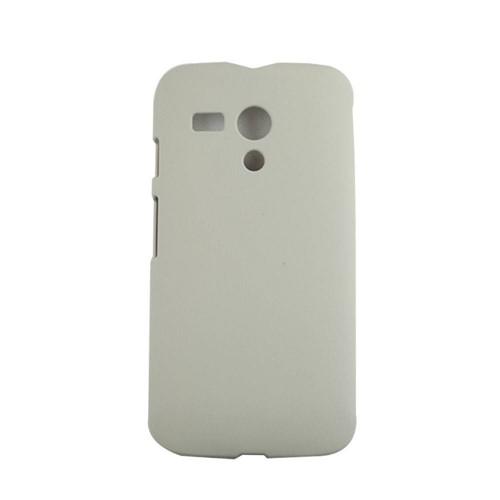 Capa Motorola Moto G Pc Emborrachada Cinza