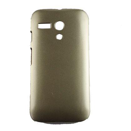 Capa Motorola Moto G Pc Premium Dourado - Idea