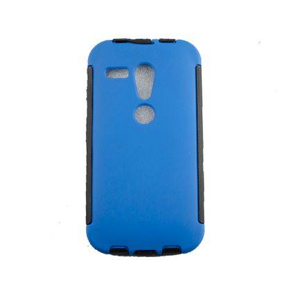 Capa Motorola Moto G Pc+Tpu Tripla ProteçãO Azul - Idea