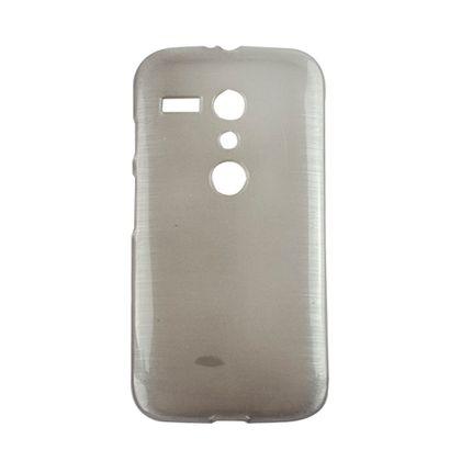 Capa Motorola Moto G Tpu Esmalte Cinza - Idea