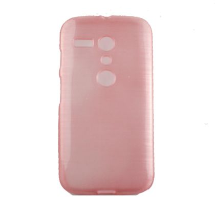 Capa Motorola Moto G Tpu Esmalte Rosa - Idea