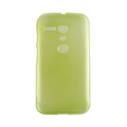 Capa Motorola Moto G Tpu Esmalte Verde Claro - Idea