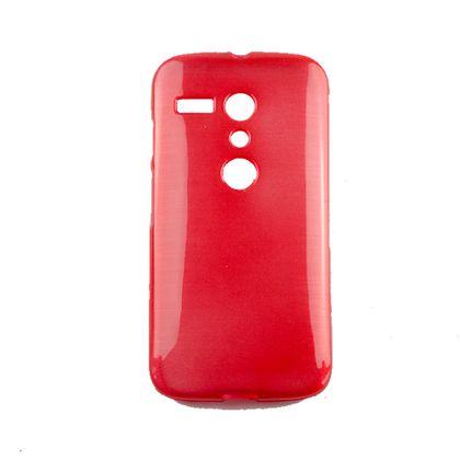 Capa Motorola Moto G Tpu Esmalte Vermelho - Idea