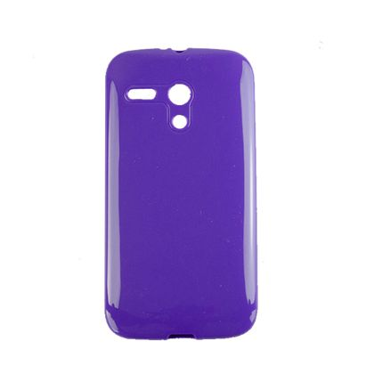 Capa Motorola Moto G Tpu Roxo - Idea