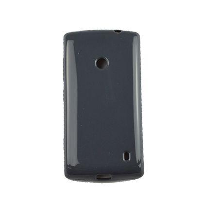 Capa Nokia 520 Tpu Gel Cinza - Idea