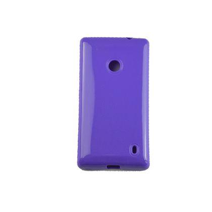 Capa Nokia 520 Tpu Gel Roxo - Idea