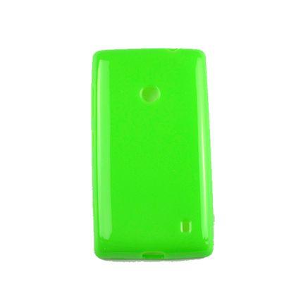 Capa Nokia 520 Tpu Gel Verde - Idea