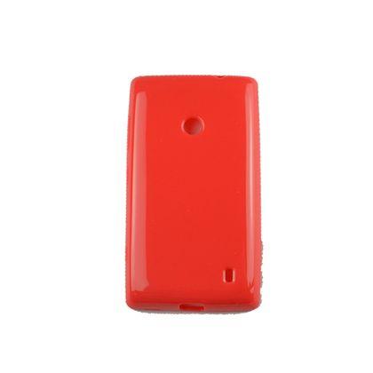 Capa Nokia 520 Tpu Gel Vermelho - Idea