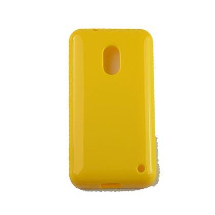 Capa Nokia 620 Tpu Amarelo - Idea