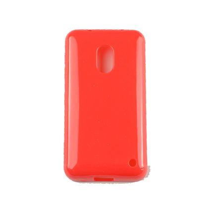 Capa Nokia 620 Tpu Vermelho - Idea