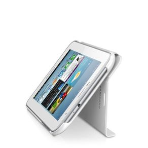 "Capa P/ Tablet Samsung Galaxy Tab2 7"" Samsung Book Cover Branca EFC-1G5SWECSTD"