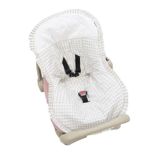 Capa para Bebê Conforto Windsor Bege - Biramar Baby