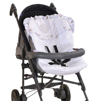Capa para Carrinho de Bebê Baby Blue - Azul - Hug