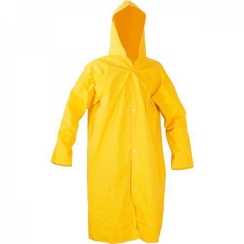 Capa para Chuva de PVC com Forro 110mG Vonder Amarelo