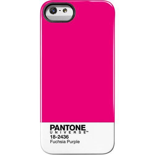Capa para IPhone 5 Fuchsia Purple Rosa e Branco - Pantone