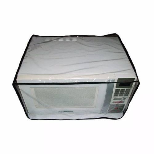 Capa para Microondas 21 Litros Transparente Impermeavel