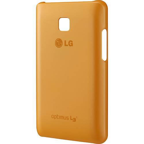 Capa Protetora Ultra Slim Laranja Optimus L3 II - LG