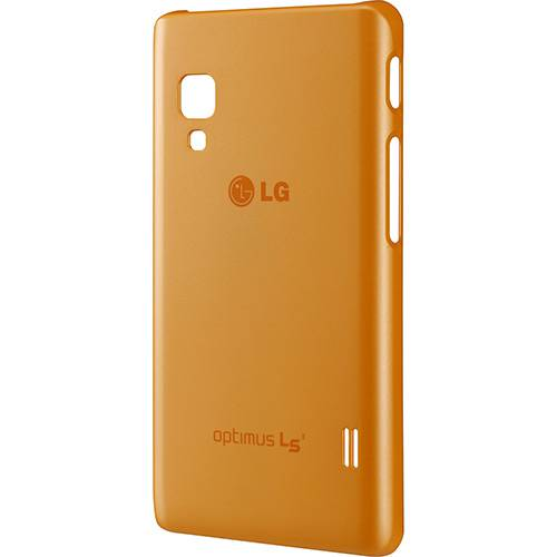 Capa Protetora Ultra Slim Laranja Optimus L5 II - LG