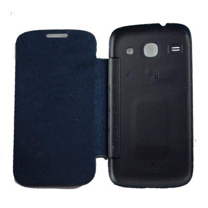 Capa Samsung Galaxy Ace 3 Flip Azul - Idea