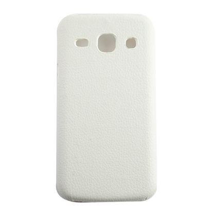 Capa Samsung Galaxy Core Plus Tv Pc Couro Branco - Idea