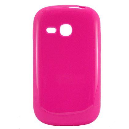 Capa Samsung Galaxy Fame Lite Tpu Rosa - Idea